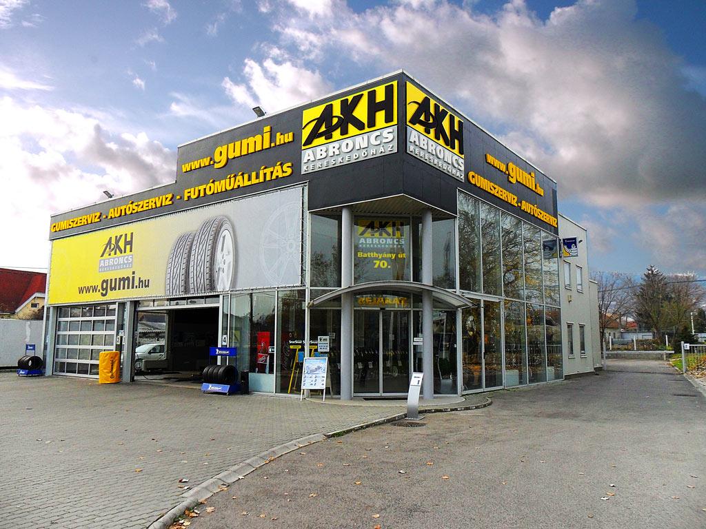 AKH Batthyány utca - Telephelyek - Gumi.hu 7b56523047